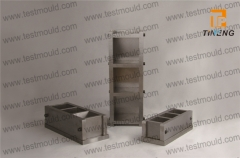 Steel three gang mould
