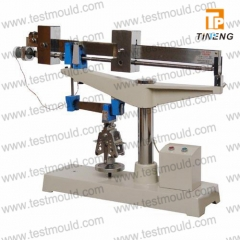 Cement flexural testing machine