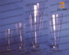 Glass Measure cone shape conical