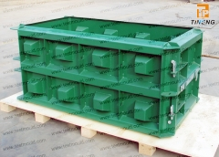 Concrete block mould