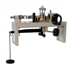 Light weight and portable direct shear test machine